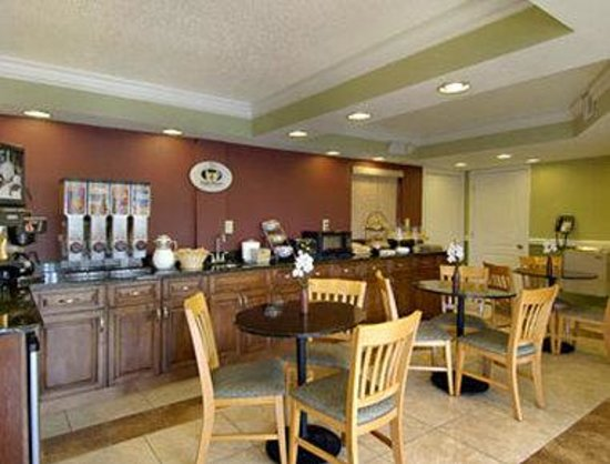Super 8 Ringgold: Breakfast Area