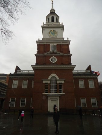 Independence Hall: Frente