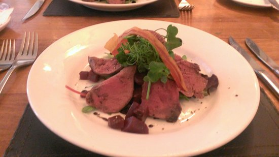 The Bay Tree: pigeon (yes really) starter