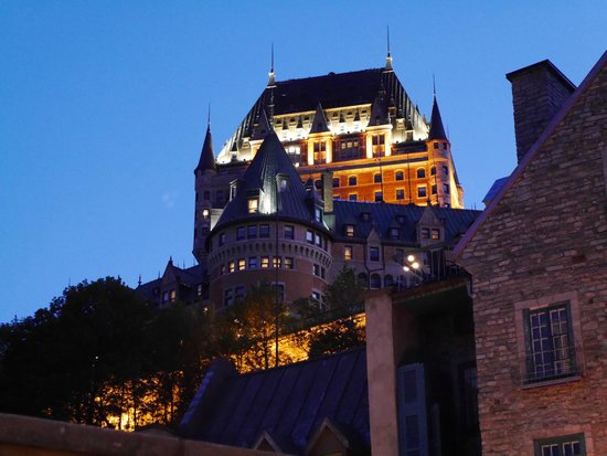 Fairmont Le Chateau Frontenac : The hotel from the lower town