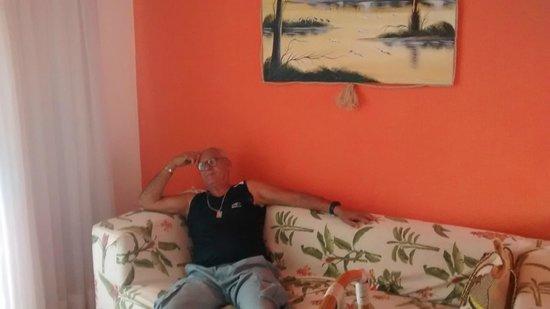Hotel Areia De Ouro : sala