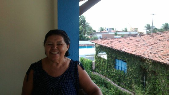 Hotel Areia De Ouro : varanda