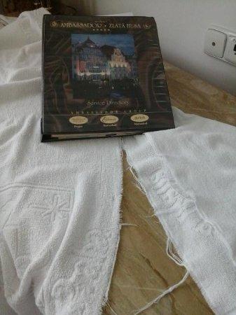 Hotel Ambassador - Zlata husa: The raggy barh towels
