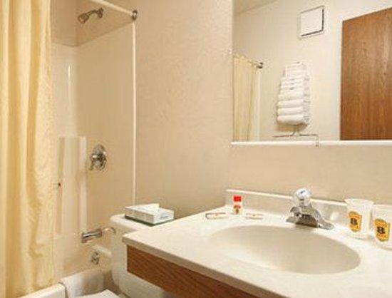 Super 8 Auburn: Bathroom