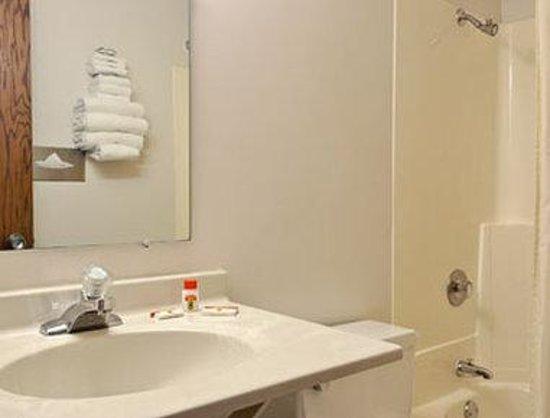 Super 8 Mankato: Bathroom