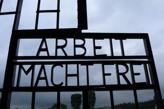 Mosaic Non-Profit Sachsenhausen Memorial Tours: Work will make you free