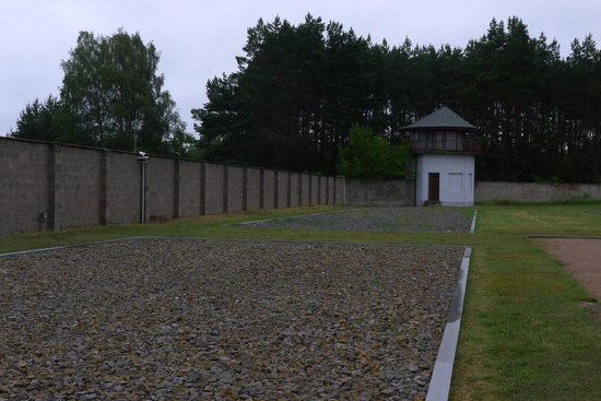 Mosaic Non-Profit Sachsenhausen Memorial Tours: Neutral zone and tower