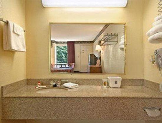 Super 8 Williamsburg Pottery: Bathroom