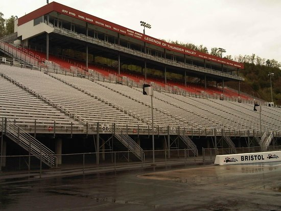 Bristol Motor Speedway: Drag Racing seating