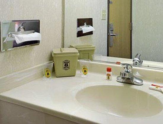 Super 8 Monee: Bathroom