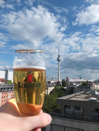 Wombat's Berlin: Roof top bar