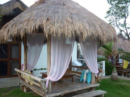 Sunz En Coron Resort: Les huttes de repos