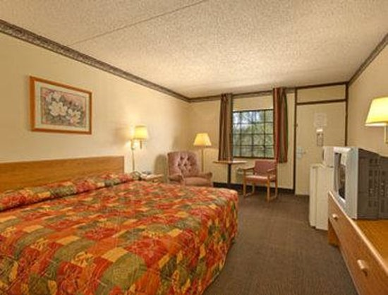Super 8 Clarksville AR: King Bed Room with MicroFridge