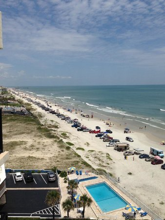 Nautilus Inn: Awesome beach view to the North!
