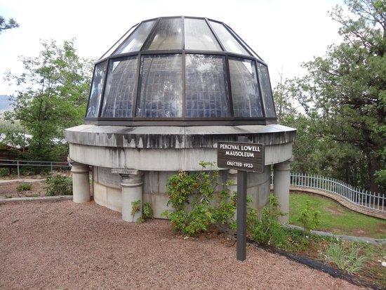 Lowell Observatory: Perceival Lowell's Mausoleum