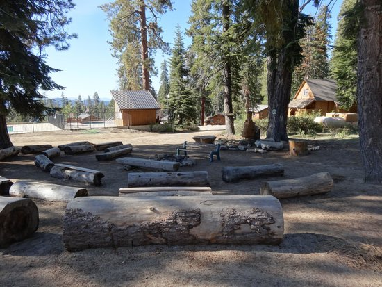 Montecito Sequoia Lodge & Summer Family Camp: Large Campfire every evening