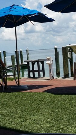 Dry Dock Waterfront Grill : Great view