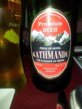 Gurkha Corner : Beer