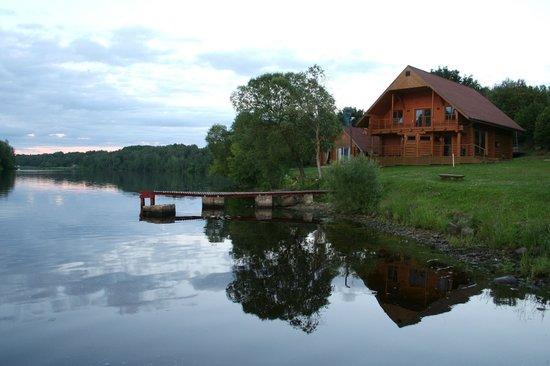 Jaunjelgava, Latvia: evening at the Wild Duck