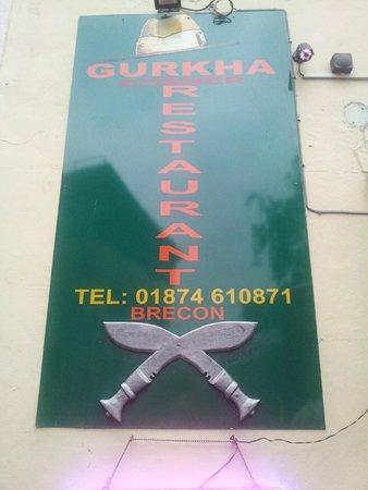 Gurkha Corner : Sign