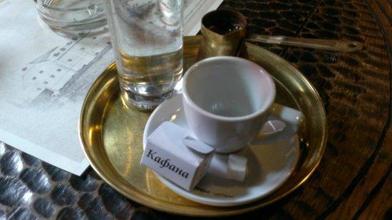 Kafana Question Mark: Café turc