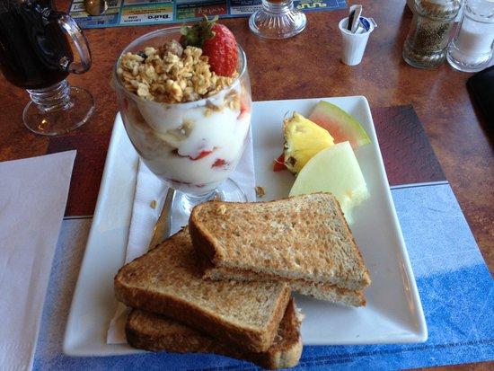 """Le Grand Hotel : Petit-déjeuner """"santé"""" de l'hôtel"""