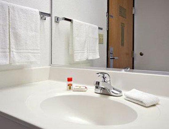 Super 8 Mchenry : Bathroom