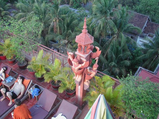 Okay 1 Villa : rooftop swimming pool