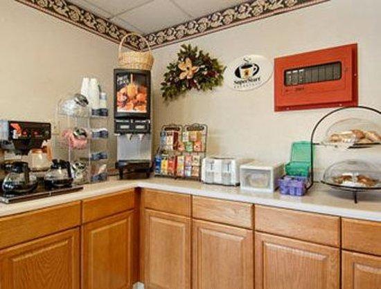 Super 8 Marion NC : Breakfast Setup