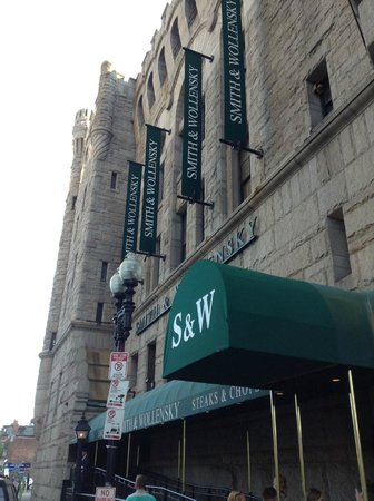 Smith & Wollensky: outside view