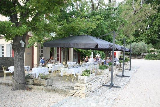 Domaine de Cabasse: Terrasse du restaurant