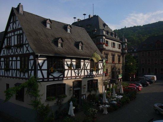 Weinhaus Weiler, von der Stadtmauer gesehen