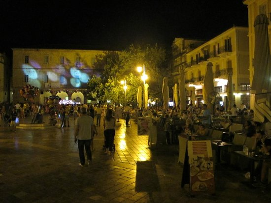Xenon Inn: Concert & activity on the square during the summer season