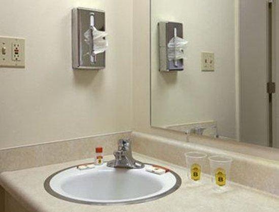 Super 8 Altamont: Bathroom