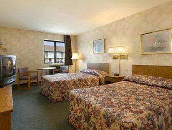 Value Inn Harrisburg-York: Standard Two Double Bed Room