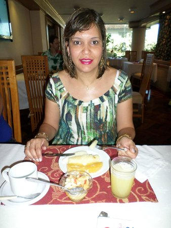 Hotel Cecilia: café da manhã