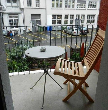 Hotel Seehof: Balcony