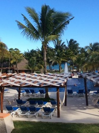 Barcelo Maya Beach: view from our room