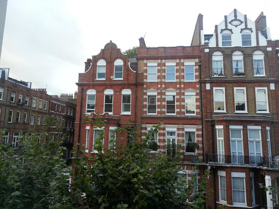 YHA London Earl's Court : Vista da janela