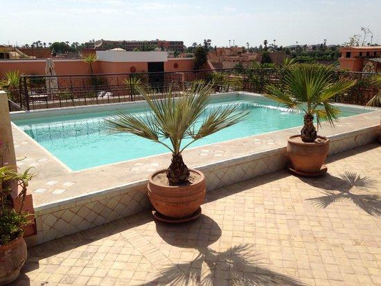 La Villa des Orangers - Hôtel: Piscine de terrasse