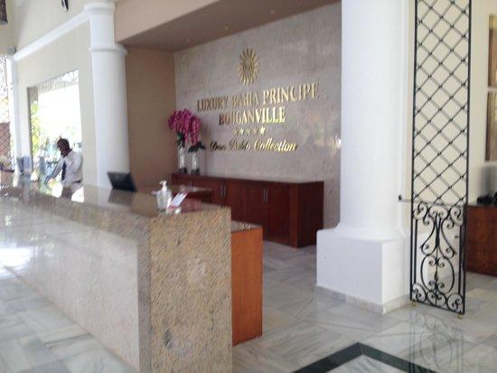 Luxury Bahia Principe Bouganville Don Pablo Collection: Hotel lobby
