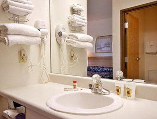 Super 8 Farmington: Bathroom
