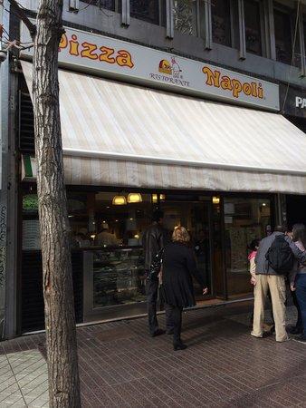 Pizza Napoli : Não deixem de comer bem!