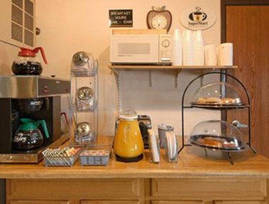 Super 8 Mansfield: Breakfast Area