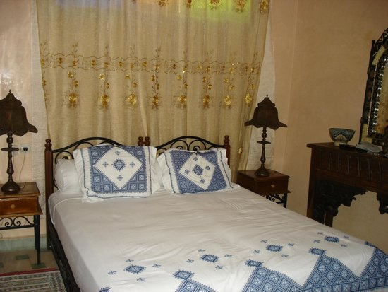 Riad Dar Guennoun: Third floor room