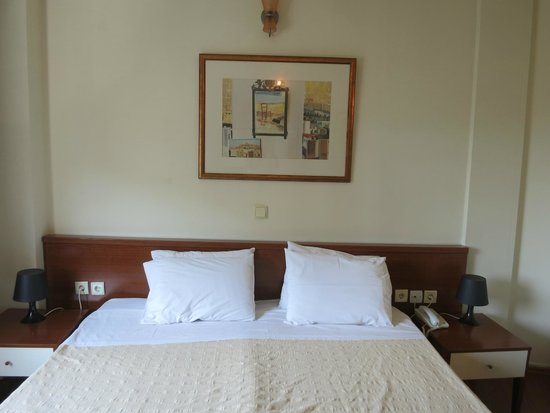 Plaza Hotel: Double bed