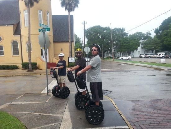 St. Augustine Bike Rentals: Segway thru St. Augustine