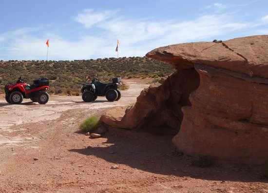 ATV and Jeep Adventure Tours: Seeing the sights