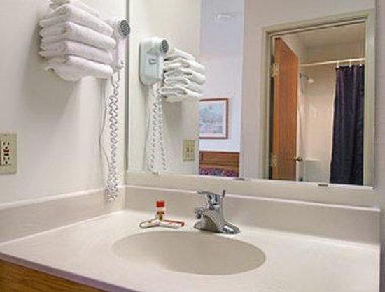 Super 8 Watertown WI : Bathroom
