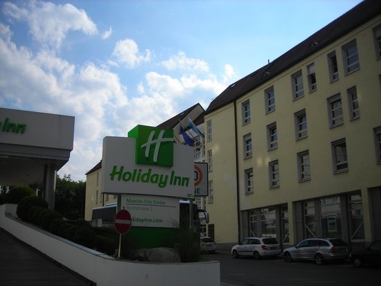 Holiday Inn Munich - City Centre : Entrada